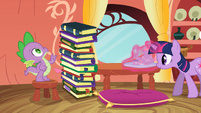 Spike countitng the 12th book S3E9
