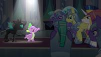 Spike singing --'til the end-- S6E16