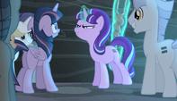Starlight gloating to Twilight S5E1