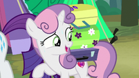 "Sweetie Belle ""you only packed three suitcases"" S7E16"
