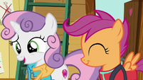 Sweetie Belle --don't have to be good at something to have fun-- S6E4