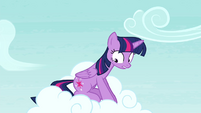 Twilight -almost slammed into that- S4E21