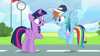 Twilight and Rainbow discover their friendship problem S6E24