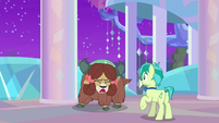 """Yona """"cannot come down from treehouse"""" S9E7"""