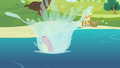 Apple Bloom falls into the water S4E20.png