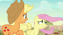Applejack -goin' out as far as we are- S8E23