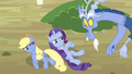 Applejack and Rarity turns blue S4E11.png