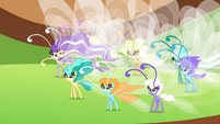 Breezies gathered together S4E16