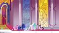 Celestia, Luna and Cadance now powerless S4E26.png