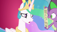 "Celestia ""magical artifacts will stop working"" S8E25"