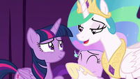 Celestia -not such a bad actress after all- S8E7