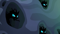 Changelings coming out of their burrows S6E26