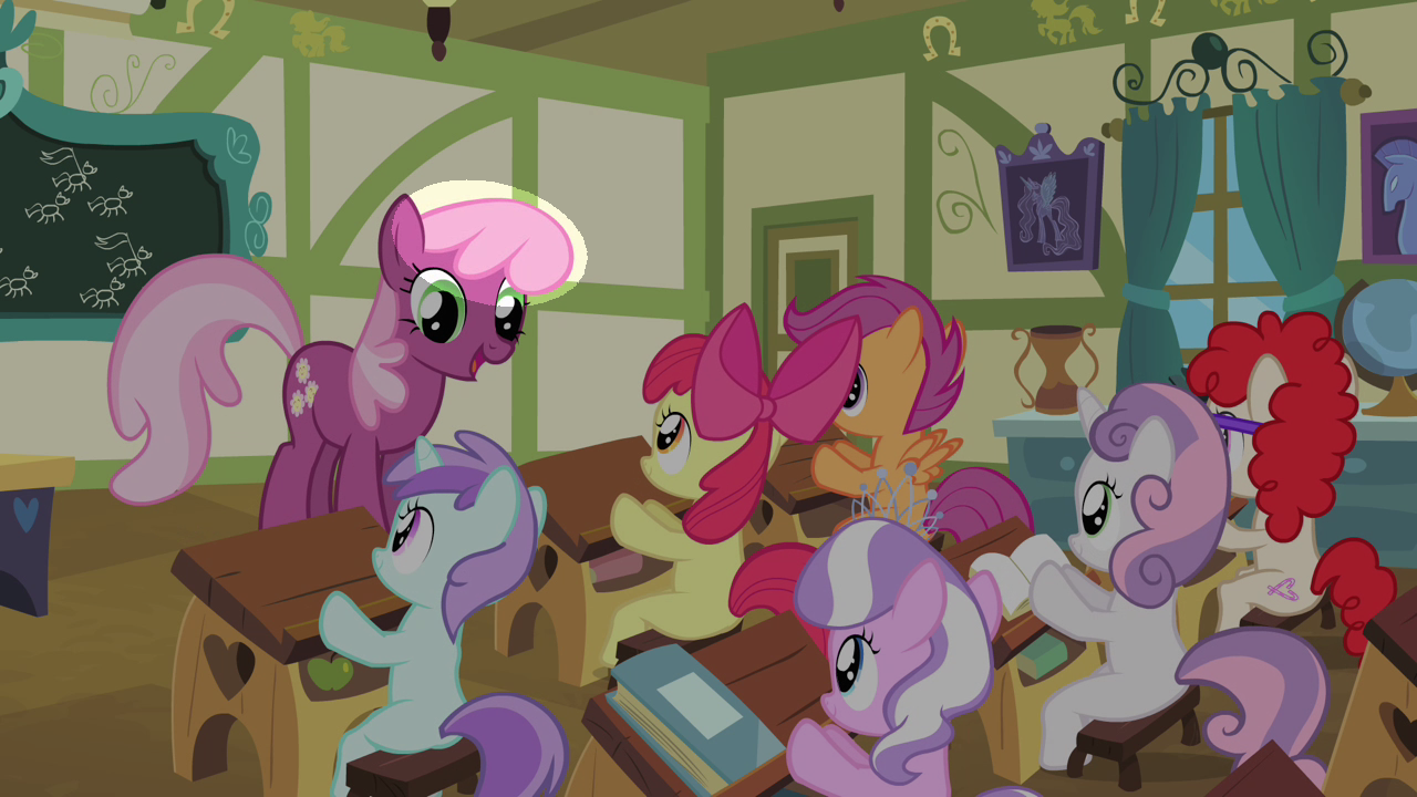 Imagen - Cheerilee sin su franja de color S4E05.png | My Little Pony ...