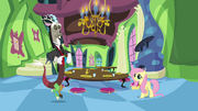 Fluttershy's fancy new house S03E10