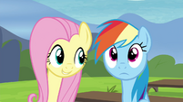 Fluttershy -Celestia and Luna- S4E21