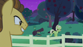 Granny angrily walking away from Grand Pear S7E13.png