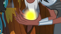 Lord Tirek holding a sphere of magic S9E1