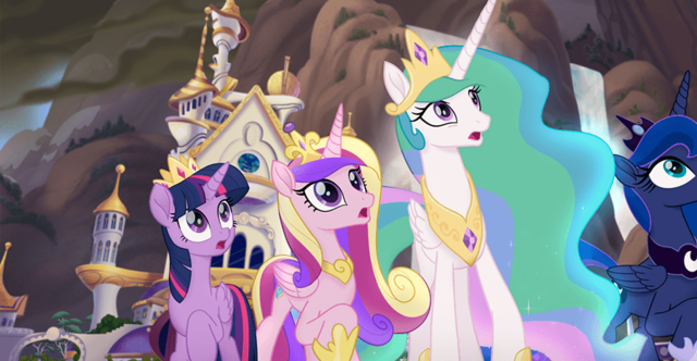 File:MLP The Movie Hasbro website - Princesses in shock.png