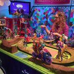 NYTF 2015 Friendship Games display