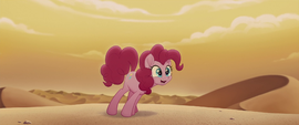 Pinkie Pie excited to see a desert city MLPTM