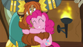 Pinkie Pie hugging Prince Rutherford's hair S8E2.png