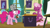 Pinkie Pie surprised by Cheerilee's information S7E23