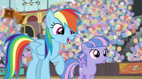 "Rainbow Dash ""I guess you'll find out"" S9E6"