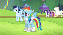 Rainbow Dash -I feel great because- S4E10