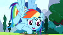 Rainbow Dash -it's my birth-iversary- S4E12