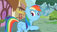 Rainbow Dash recognition S2E8