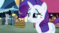 "Rarity ""Well of course you can."" S2E19"