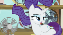 "Rarity ""other ponies might need to see it"" S7E19"