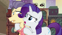 Rarity --did she just clench her jaw-!-- S6E3