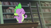 "Spike ""She said I'm her favorite dragon"" S4E23"