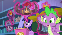 "Spike ""and the gems are real!"" S8E15"