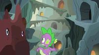 Spike --it's kinda hard to tell-- S6E5
