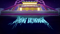 Spring Breakdown title card EGSB