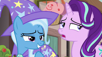 Starlight Glimmer sighing and rolling her eyes S6E25