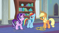 Starlight questions Twilight's by-the-book methods S8E1