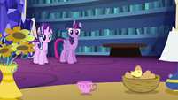 Starlight turns books into a teacup S6E21