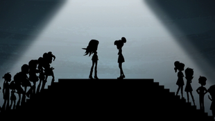 Sunset and Twilight's silhouettes face off EG3