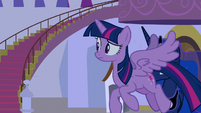 Twilight Sparkle following Rainbow Dash S9E17