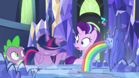 Twilight Sparkle shaking her head S7E10