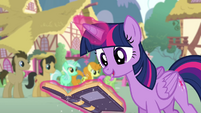 Twilight levitating the goof-off rule book S4E12