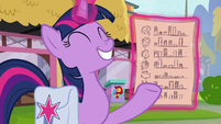 Twilight proud of her data collecting S9E16
