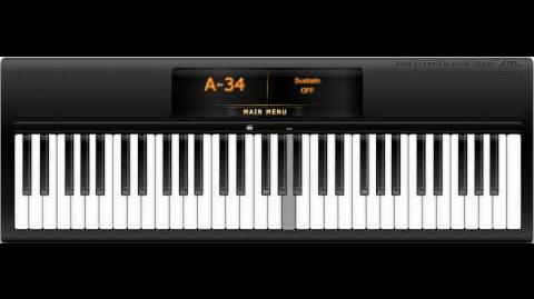 Virtual Piano - Gary Jules, Mad World-0