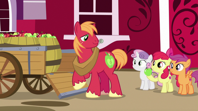 File:Apple Bloom giving dropped apple to Big Mac S7E8.png