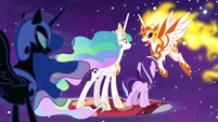 "Daybreaker ""Luna can turn into Nightmare Moon"" S7E10"