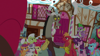"Discord ""the message did get to Sugar Belle"" S9E23"