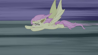 Flutterbat flying away S4E07